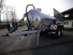 Cisternă vidanjă cu 2 axe VFW 10600 (tandem)