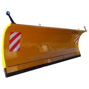 Lama de zapada tractor cu placa si contraplaca Zagroda