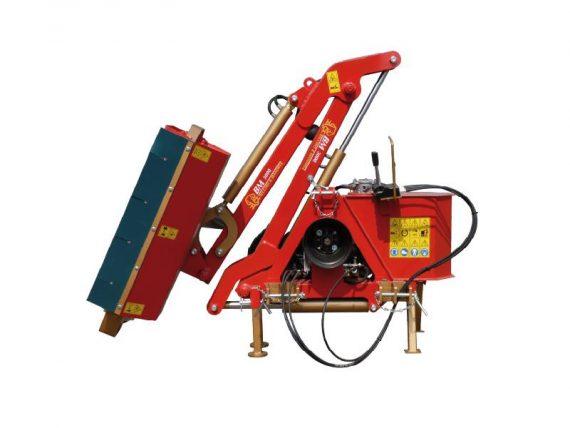 Tocatoare hidraulica cu brat articulat Becchio Mandrile model BM 300