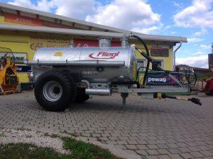 Cisternă vidanjă monoax VFW 5000