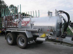 Cisternă vidanjă cu 2 axe VFW 6200 (tandem)