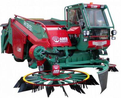 Masina de recoltat/cules mere pentru cidru AMB Rousset model R35
