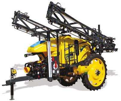 Masina de erbicidat Caffini Starter HBS 2800-3300 l cu bara de 18-24 m