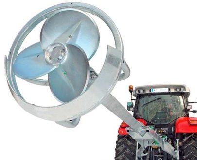 Mixer dejectii pentru tractor Bauer model Turbomix MTXH