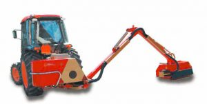 Tocatoare hidraulica cu brat articulat Becchio Mandrile model BM 482