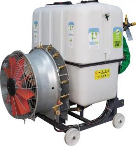 Atomizor purtat cu turbina Caffini