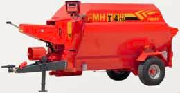 Remorca tehnologica cu descarcare frontala Fimaks model FMHI 4