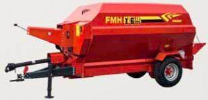 Remorca tehnologica cu descarcare frontala Fimaks model FMHI 6