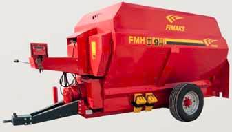 Remorca tehnologica cu descarcare frontala Fimaks model FMHI 9