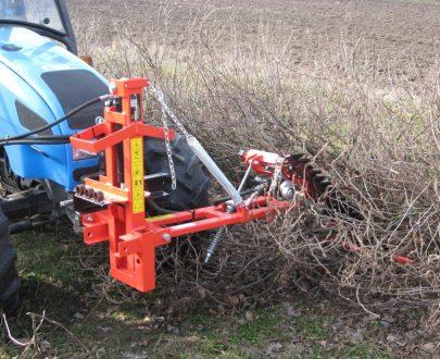 Masina de taiat si aranjat arbusti Jagoda model Former