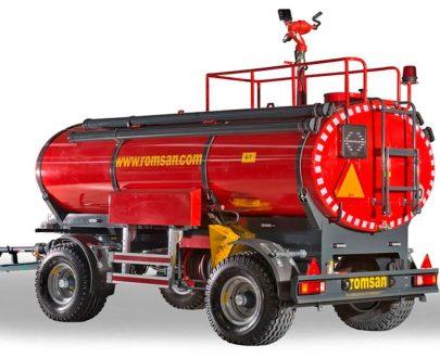 Cisterna pompieristica Romsan model R60CTK