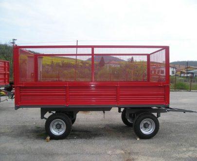 Remorca Bicchi de transportat lavanda de 6-10 tone