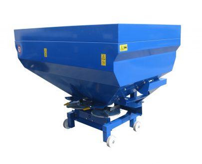 Masina de imprastiat ingrasaminte Mecanica Ceahlau MIS 600 kg