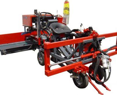 Masina de recoltat Usturoi cu un rand cu sistem de prindere ERME