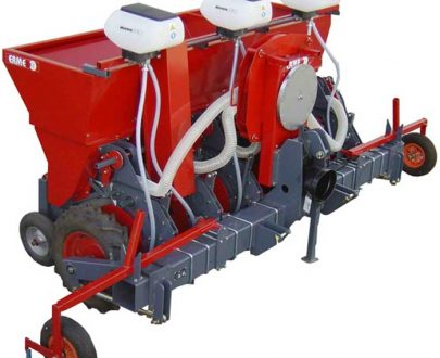 Masina de plantat usturoi pneumatica - pe 2 randuri ERME model PLPD