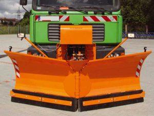 Lama de zapada autocamion Samasz model AlpS