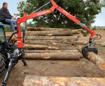 Incarcator forestier Daniele & Giraudo model DG120 F
