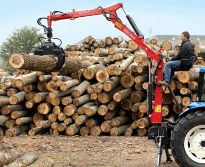 Incarcator forestier Daniele & Giraudo model DG380F