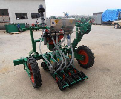 Plantator pneumatic de precizie pentru legume Agria model PSP