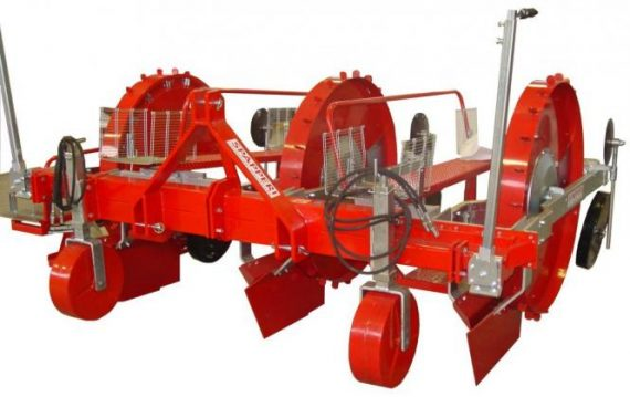 Masina de plantat mecanica pentru rasaduri Spapperi TT